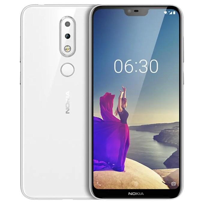 geekbuying NOKIA X6 Snapdragon 636 SDM636 8コア WHITE(ホワイト)