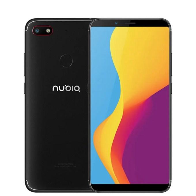 geekbuying ZTE Nubia V18 Snapdragon 625 MSM8953 2.0GHz 8コア BLACK(ブラック)