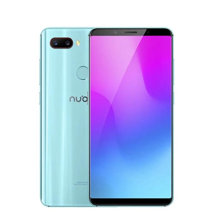 geekbuying ZTE Nubia Z18 Mini Snapdragon 660 MSM8956 Plus 2.2GHz 8コア BLACK(ブラック)