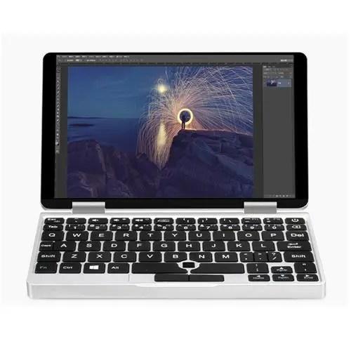 geekbuying ONE NETBOOK One Mix Atom Cherry Trail X5 Z8350 1.44GHz 4コア SILVER(シルバー)