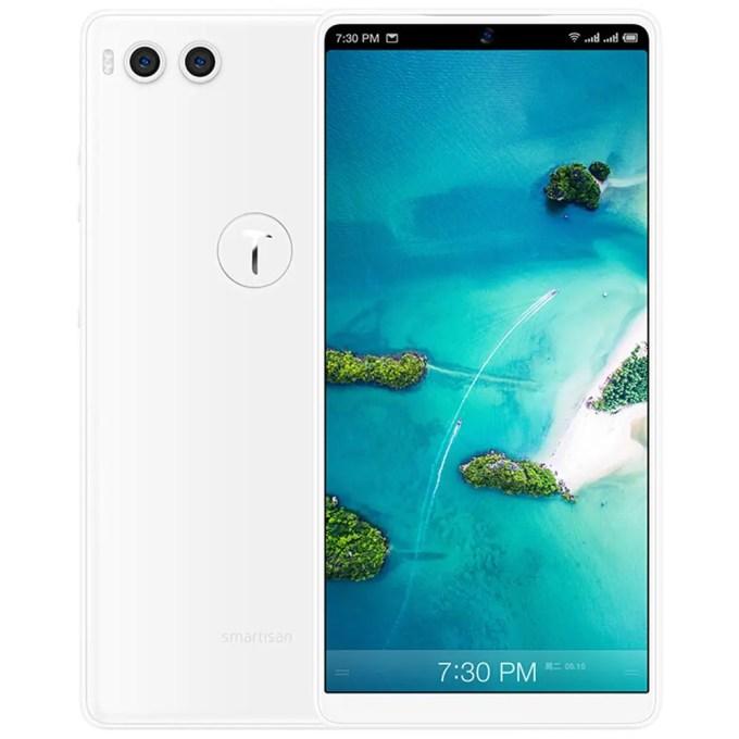 geekbuying Smartisan Nut R1 Snapdragon 845 SDM845 2.8GHz 8コア WHITE(ホワイト)