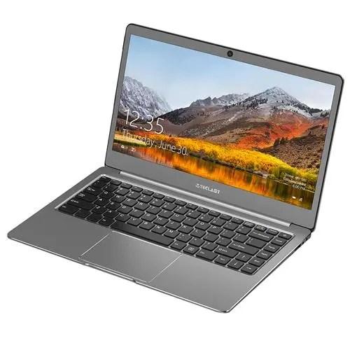 geekbuying Teclast F6 Laptop Apollo Lake Celeron N3450 1.1GHz 4コア GREY(グレイ)