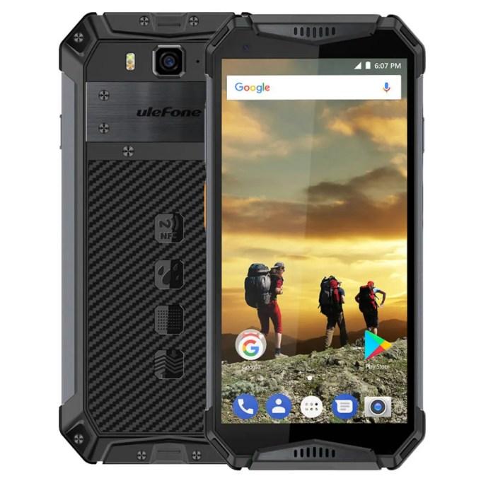 geekbuying Ulefone Armor 3 MTK6763 Helio P23 2.0GHz 8コア BLACK(ブラック)