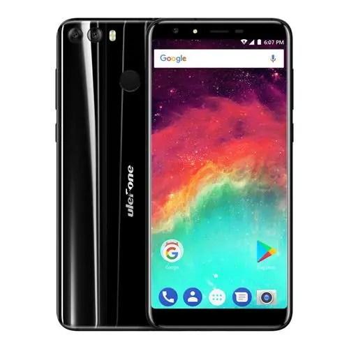 geekbuying Ulefone MIX 2 MTK6737 1.3GHz 4コア BLACK(ブラック)