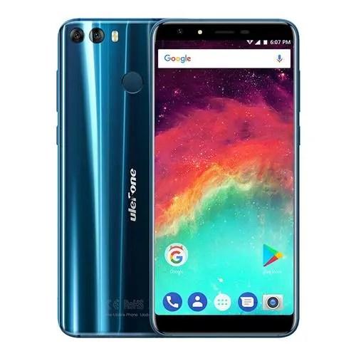 geekbuying Ulefone MIX 2 MTK6737 1.3GHz 4コア BLUE(ブルー)
