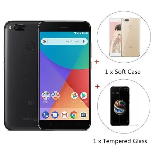 geekbuying Xiaomi Mi A1 Snapdragon 625 MSM8953 2.0GHz 8コア BLACK(ブラック)