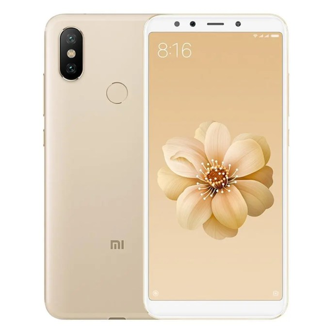 geekbuying Xiaomi Mi A2 Snapdragon 660 MSM8956 Plus 2.2GHz 8コア GOLD(ゴールド)