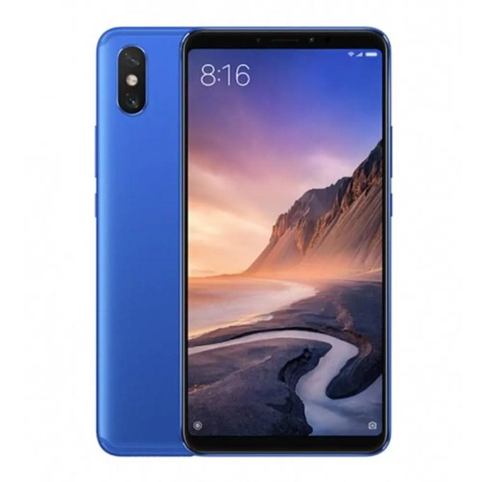 geekbuying Xiaomi Mi Max 3 Snapdragon 636 SDM636 8コア BLUE(ブルー)