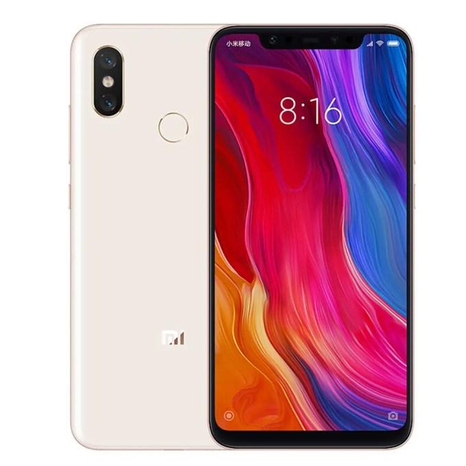 geekbuying Xiaomi Mi8 Snapdragon 845 SDM845 2.8GHz 8コア GOLD(ゴールド)