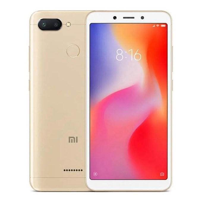geekbuying Xiaomi Redmi 6 MTK6762 Helio P20 2.0GHz 8コア GOLD(ゴールド)