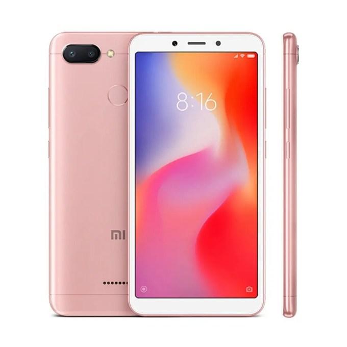 geekbuying Xiaomi Redmi 6 MTK6762 Helio P20 2.0GHz 8コア PINK(ピンク)