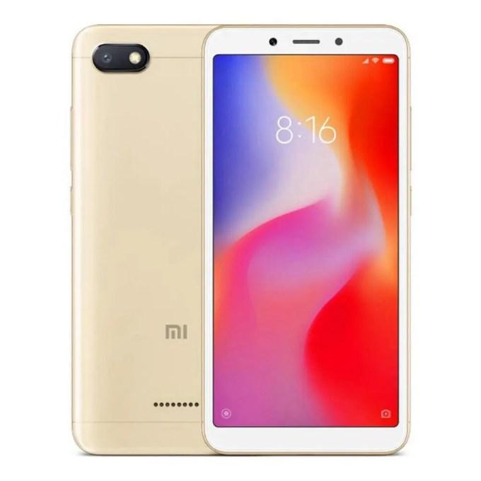 geekbuying Xiaomi Redmi 6A MTK6765 Helio A22 2.0GHz 4コア GOLD(ゴールド)