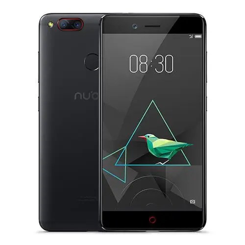 geekbuying ZTE Nubia Z17 Mini Snapdragon 652 MSM8976 1.8GHz 8コア BLACK(ブラック)