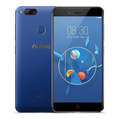 geekbuying ZTE Nubia Z17 Mini Snapdragon 652 MSM8976 1.8GHz 8コア BLUE(ブルー)