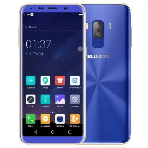 tomtop Bluboo S8 MTK6750T 1.5GHz 8コア BLUE(ブルー)