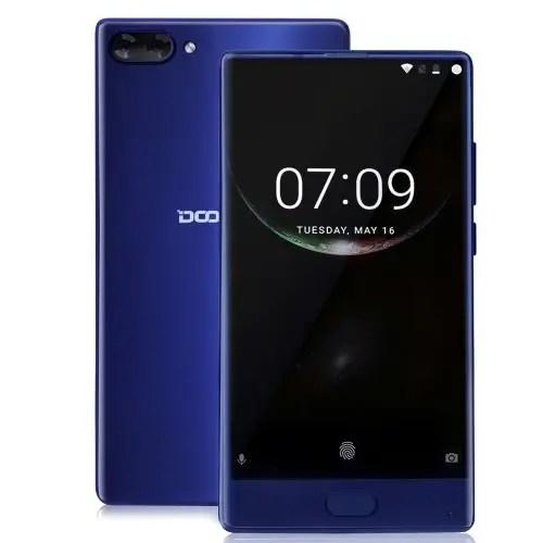 tomtop DOOGEE MIX MTK6757T Helio P25 2.5GHz 8コア BLUE(ブルー)