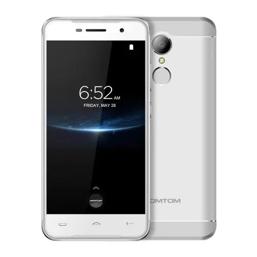 tomtop Homtom HT37 Pro MTK6737 1.3GHz 4コア SILVER(シルバー)
