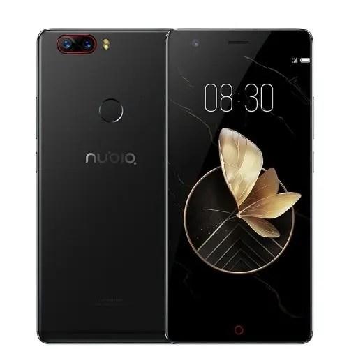 tomtop ZTE Nubia Z17 Lite Snapdragon 653 MSM8976SG 1.8GHz 8コア BLACK(ブラック)