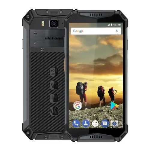 tomtop Ulefone Armor 3 MTK6763 Helio P23 2.0GHz 8コア BLACK(ブラック)