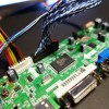 液晶モニター 自作 ドジってファームウェア更新作業でハマってます(TOT)
