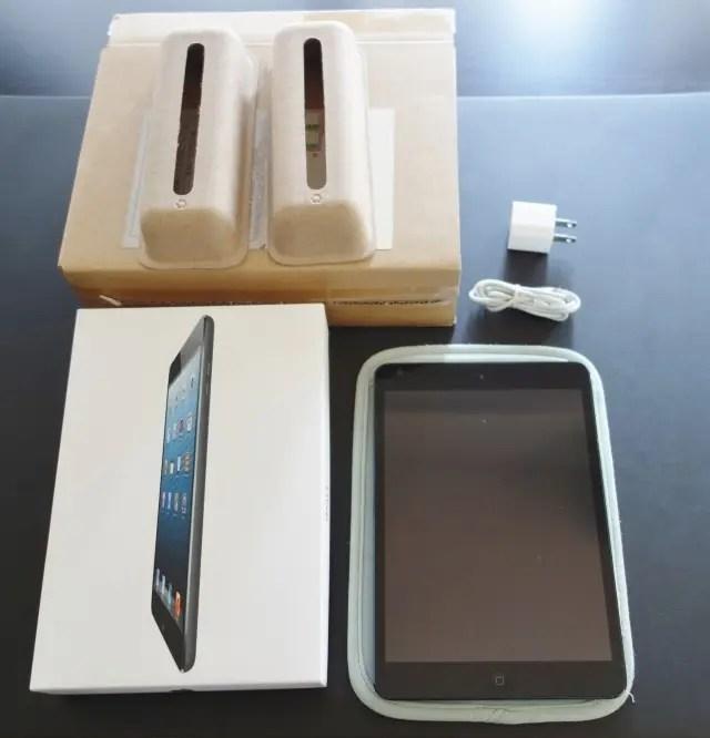 さよなら初代iPad mini WiFiモデル 16GB 年5900円償却 お安く使えました