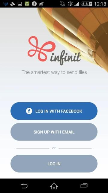 FacebookのIDでもログインできるけどメルアドでIDを作る