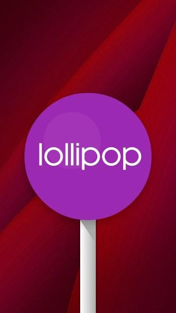 lollipopが表示された!