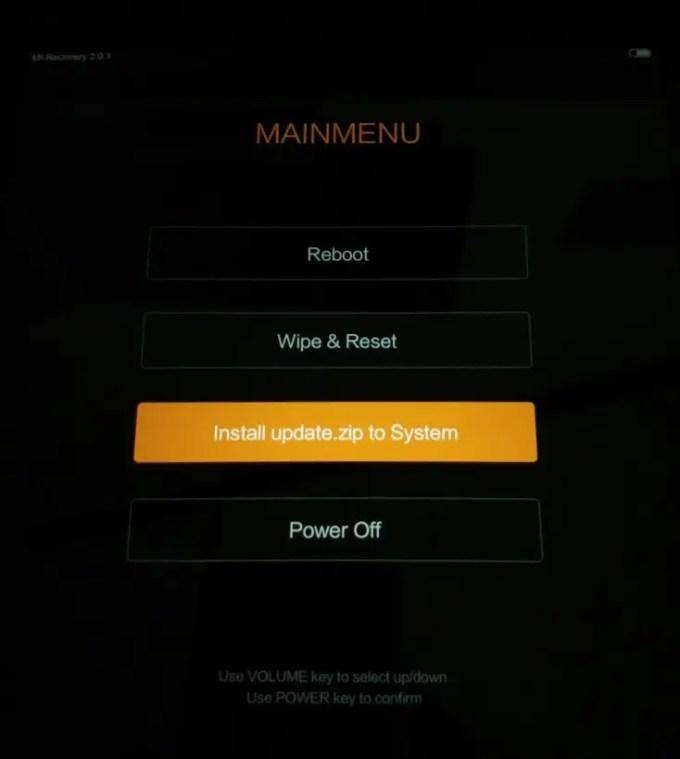 【ショップROMの不具合】Xiaomi Mi Pad2 Mi-recoveryでROM書き換え