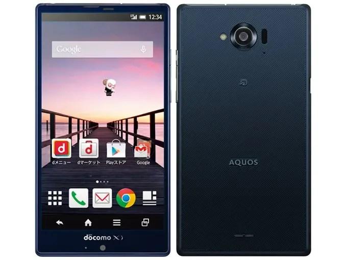 AQUOS ZETA SH-01G Snapdragon 801 MSM8974AB 2.3GHz 4コア