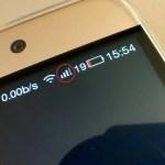 【アンテナピクト マークの意味】LeTV LeEco Le 2 Pro 電波受信状態の「2」はなんなのか→解決SIMスロットの番号だった