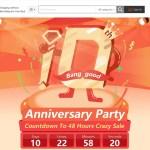 【Banggood】10周年記念アニバーサリーパーティ★ゲームでクーポン・ポイント・商品ゲット