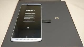 ZTE AXON 7 開封 レビュー ハイスペSIMフリー中華スマホ★スナドラ820+ドルビー・技適シールあり