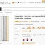 【Banggood】11/11 独身の日に向けてビッグセール Xiaomi Redmi Pro 70ドルオフ & Mi5 Pro 20%オフなど