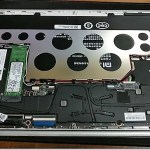 Xiaomi Mi Notebook Air 12 殻割り SSD M.2増設