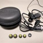 Parasom A8 イヤーフック+カナル型 Bluetoothスポーツイヤホン 防汗防滴 開封 レビュー 20%オフクーポン付き