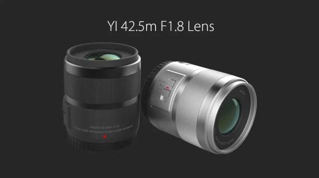 Xiaomi Yi Digital Camera M1 42.5m F1.8 Lens