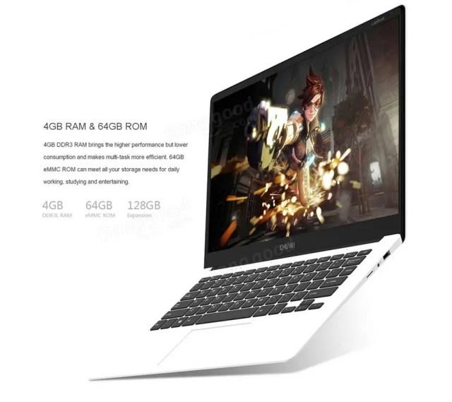 Chuwi Lapbook Notebook メモリ4GB/ストレージ64GB