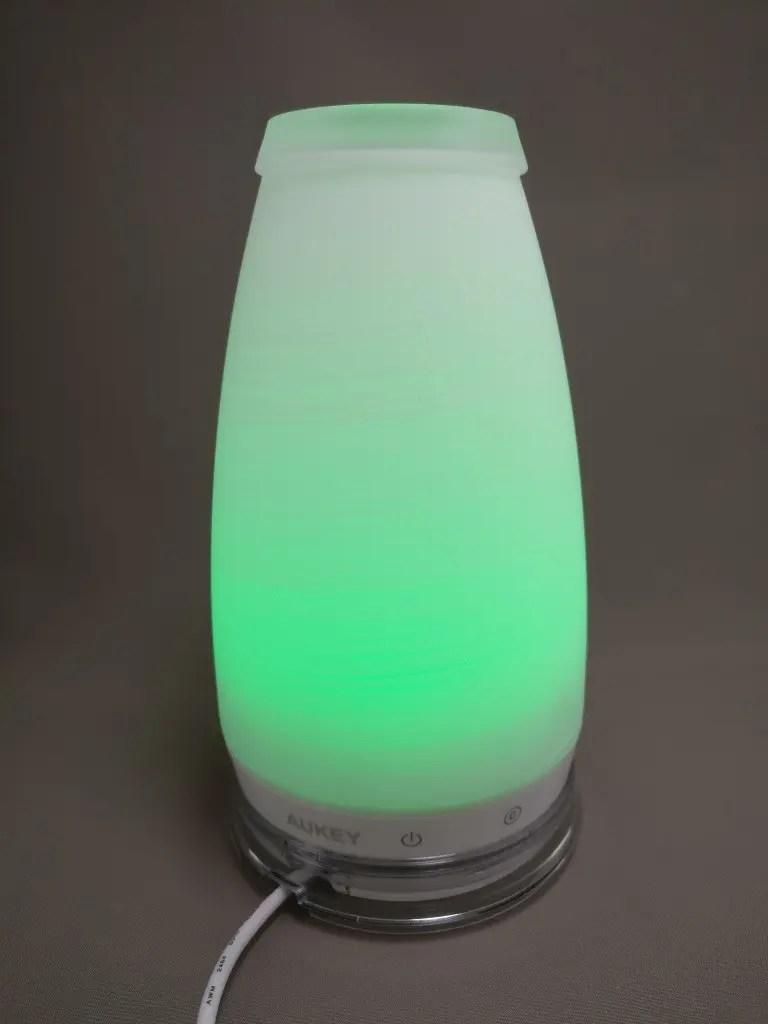 AUKEY LEDライト 花瓶 1W USB充電 LT-ST14 緑