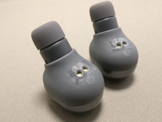 QCY Q29 完全分離型 両耳 Bluetooth ワイヤレスイヤホン シールを取る