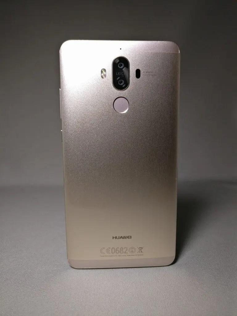 Huawei Mate 9 ゴールド 外観 裏面 正面 6