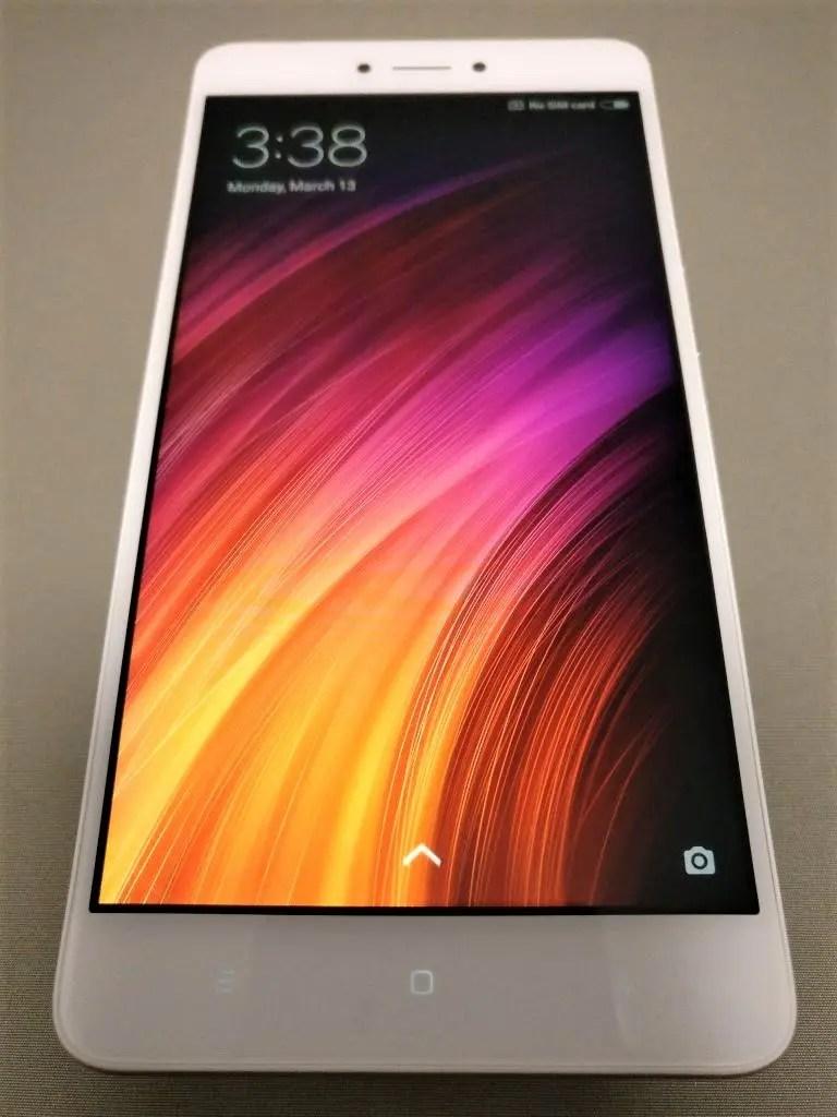 Xiaomi Redmi Note 4X 起動完了