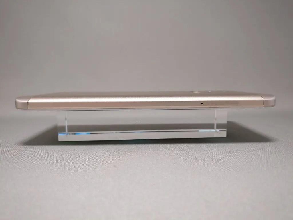 Xiaomi Redmi Note 4X 側面 左