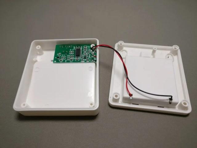 dodocool LEDナイトライト人感センサー 分解 裏のビスを4本外す