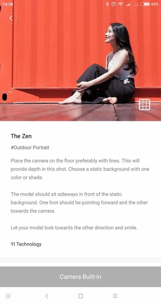 Yi M1 ポートレート The ZEN
