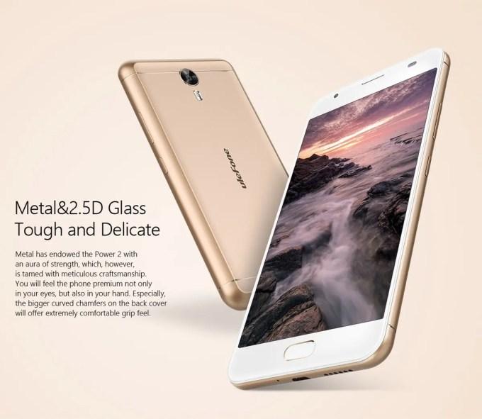 Ulefone Power 2  2.5D ゴリラガラス3