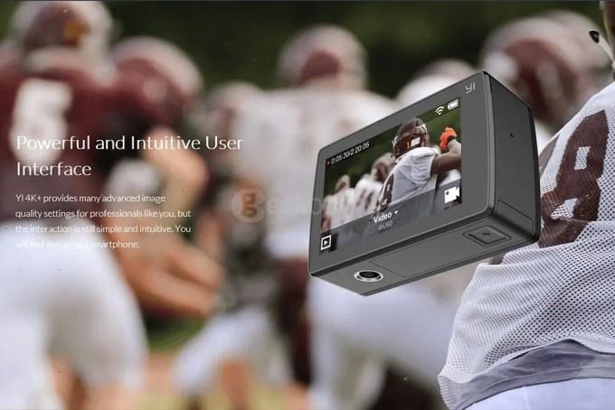 YI-4K-Plus-Ultra-HD-Action-Camera-Ambarella-H2-SONY-IMX377---Black-display-interface