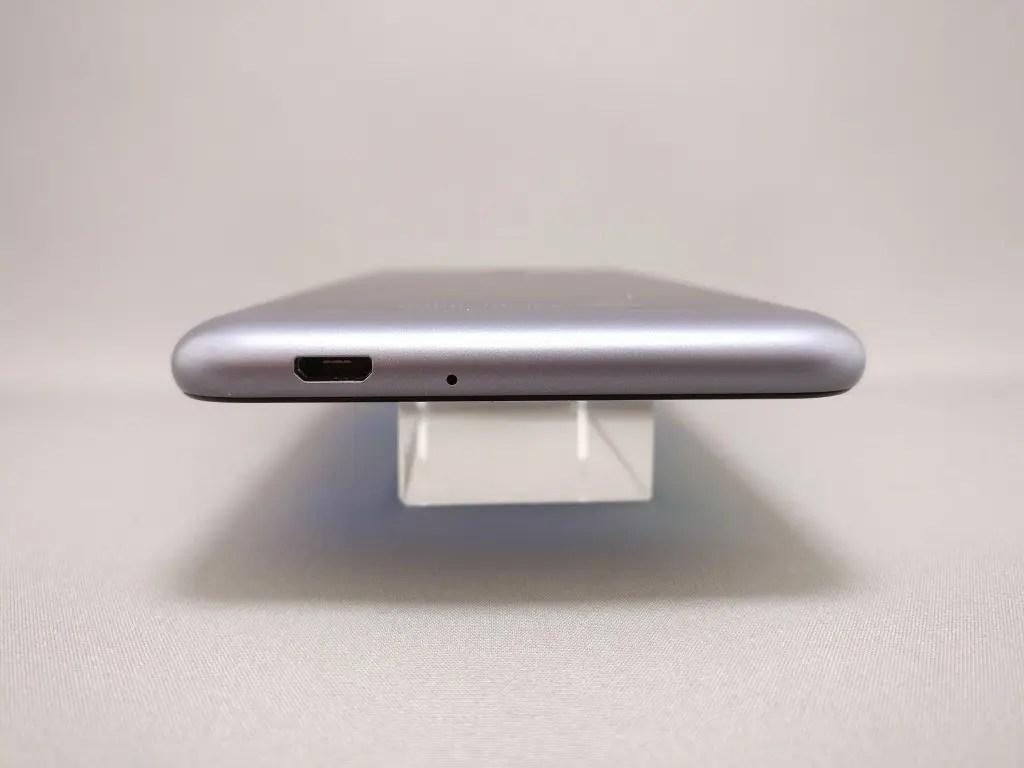 ASUS Zenfone Max 3 側面 上