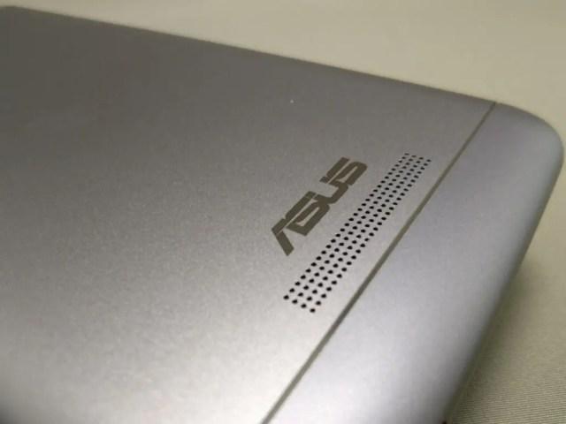 ASUS Zenfone Max 3 裏 ASUSアイコン