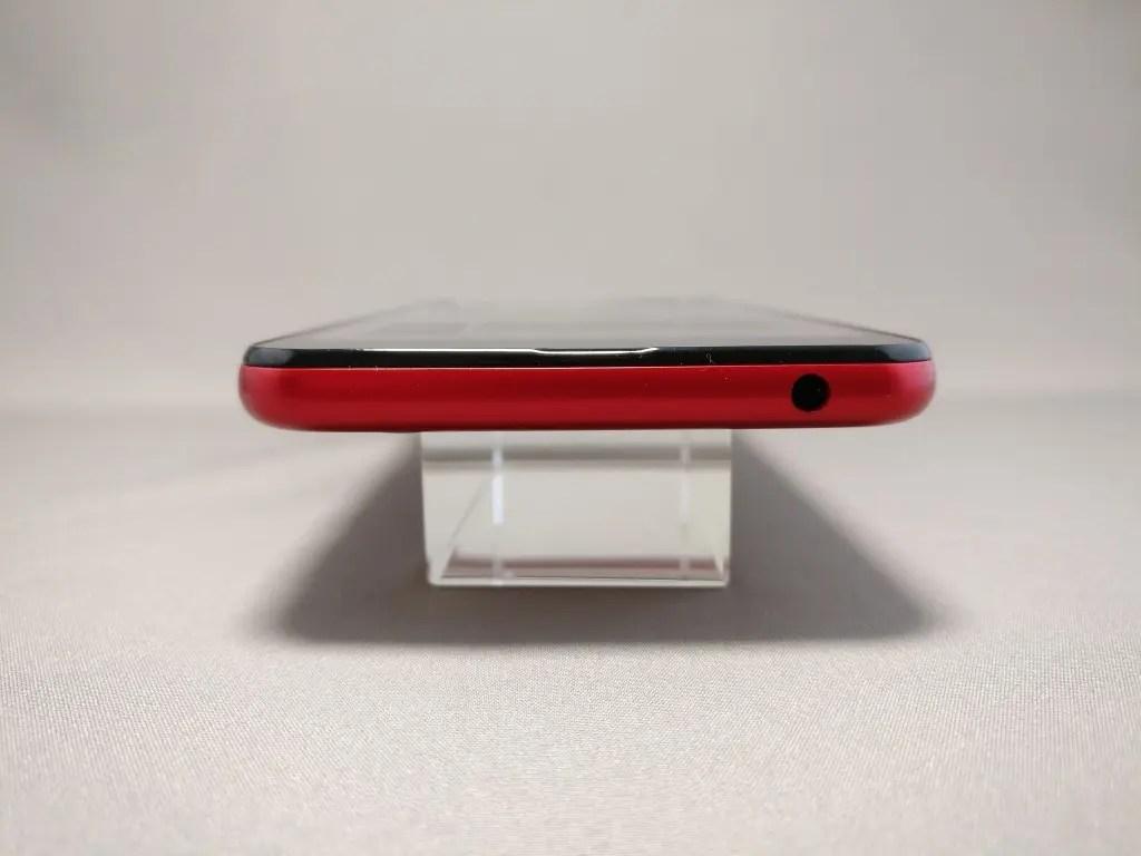 楽天モバイル シャープ SH-M04 側面 上