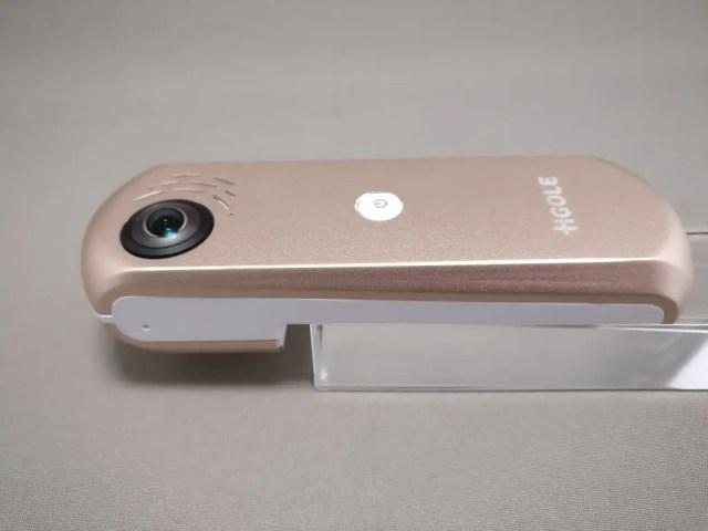 HIGOLE GOLE360 Panorama VR アクションカメラ 斜め